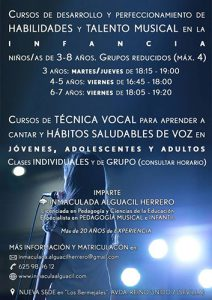 Cursos de Técnica Vocal